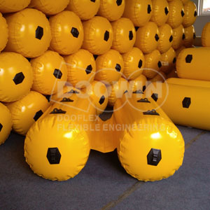 twin inflatable Buoyancy Bags