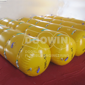 Individual Buoyancy Bags for Pipeline